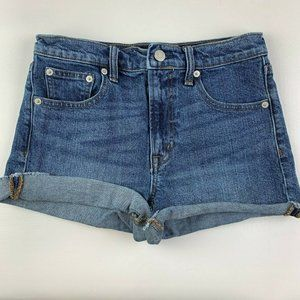 Gap Jean Shorts Cuffed
